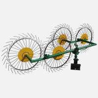 Грабли ДТЗ «Солнышко» ГВР-4 (грабли ворошилки 4-х колесные)